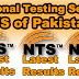 NTS Balochistan Education Project JVT Test Roll NO Slips 2016