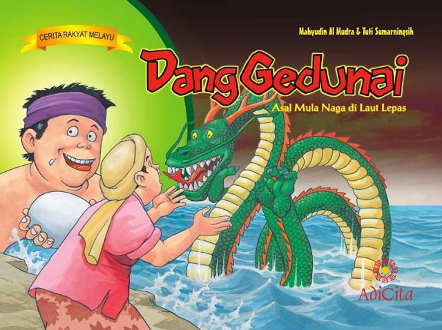 Cerita Rakyat Melayu Riau Kisah Dang Gedunai Menjadi Naga di Lautan