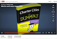 Fra TED-talk av Paul Romer: Why the world needs charter cities