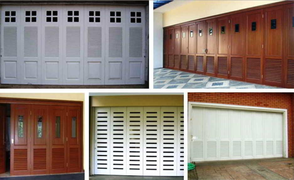 50 model  harga pintu garasi minimalis terbaru lipat