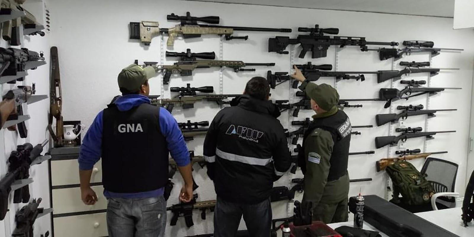 operativo contrabando de armas