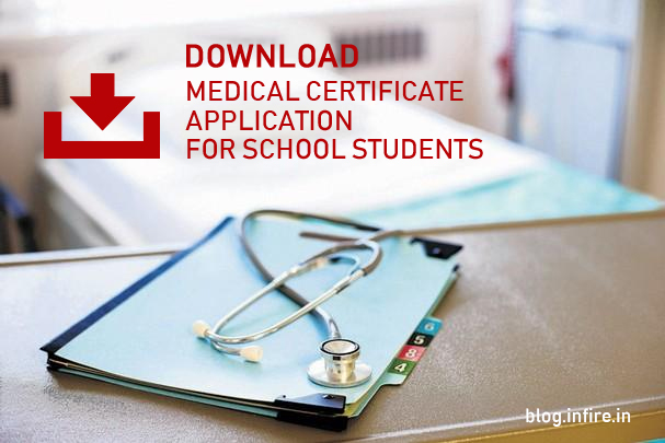 Download Medical Certificate Format for School Students