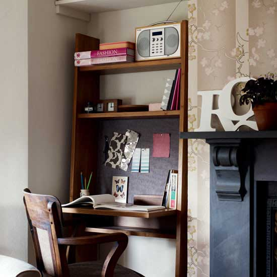 Home Offices In Small Spaces: APARTMENT INTERVENTION: HOME OFFICES FOR SMALL SPACES