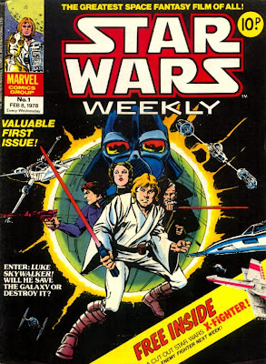 Star Wars Weekly #1, Marvel Comics UK