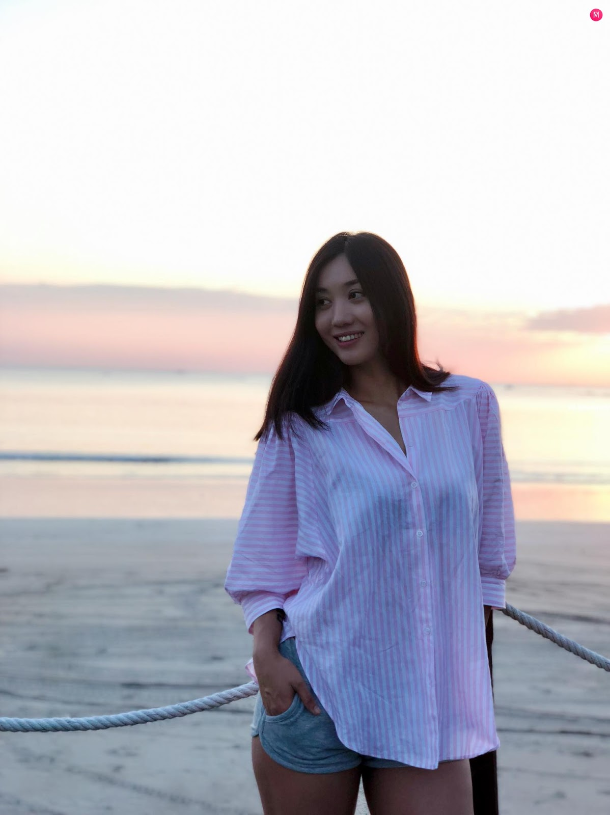 Lu Lu Aung Photo Collection In November , Beach , Sunset Photoshoots