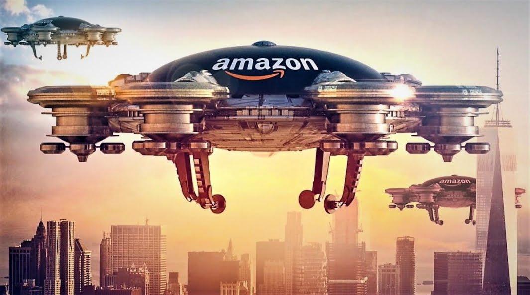 Amazon: viaggiare in astronavi attraverso il Sistema Solare.