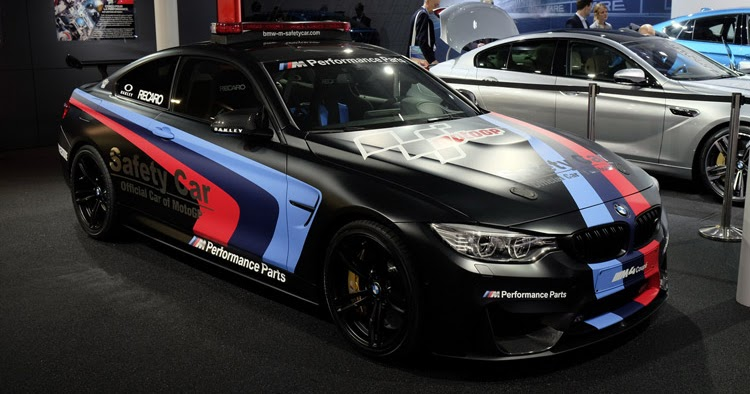 Safest Car Color: BMW M4 MotoGP Safety Car Uses Water To Boost Power, Will