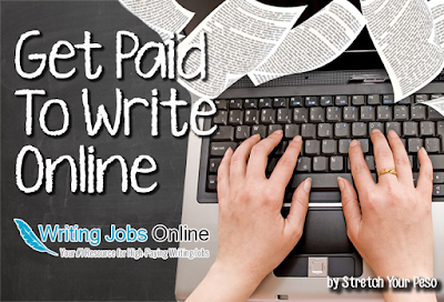 getting paid for writing online