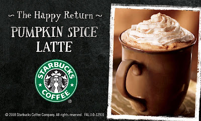 Starbuck's Pumpkin Spice Latte