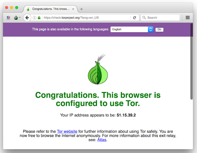 How to use curl or Python with Tor on OSX | Albertech Blog