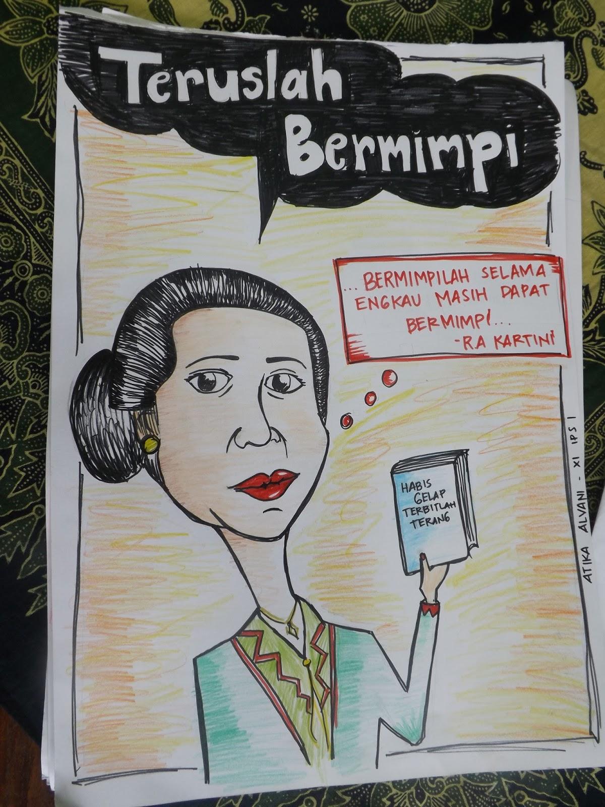 76 Gambar Karikatur Ra Kartini   Karitur