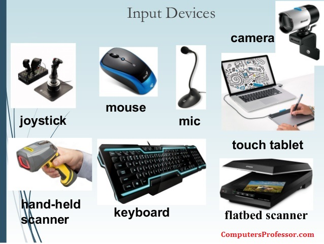 input in a computer