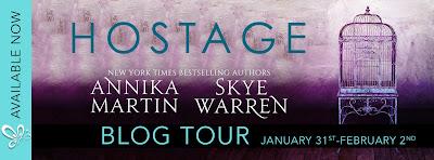 {Blog Tour} Review: Hostage by Annika Martin & Skye Warren