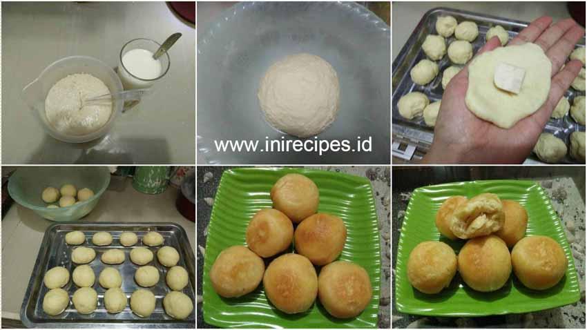 Roti Goreng Eggless Empuk