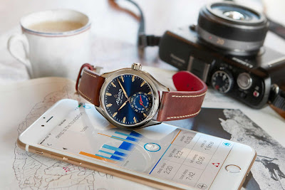 Alpina Horological Smartwatch, New Blue Dial Version