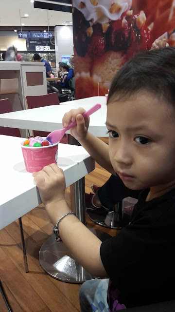BASKIN ROBBINS WHAT'S YOUR FLAVOR?  Dah tentu mummy suka....