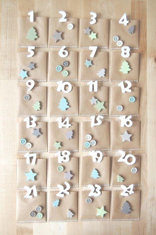 Educar con jes s calendarios de adviento i manualidades for Calendario de adviento casero