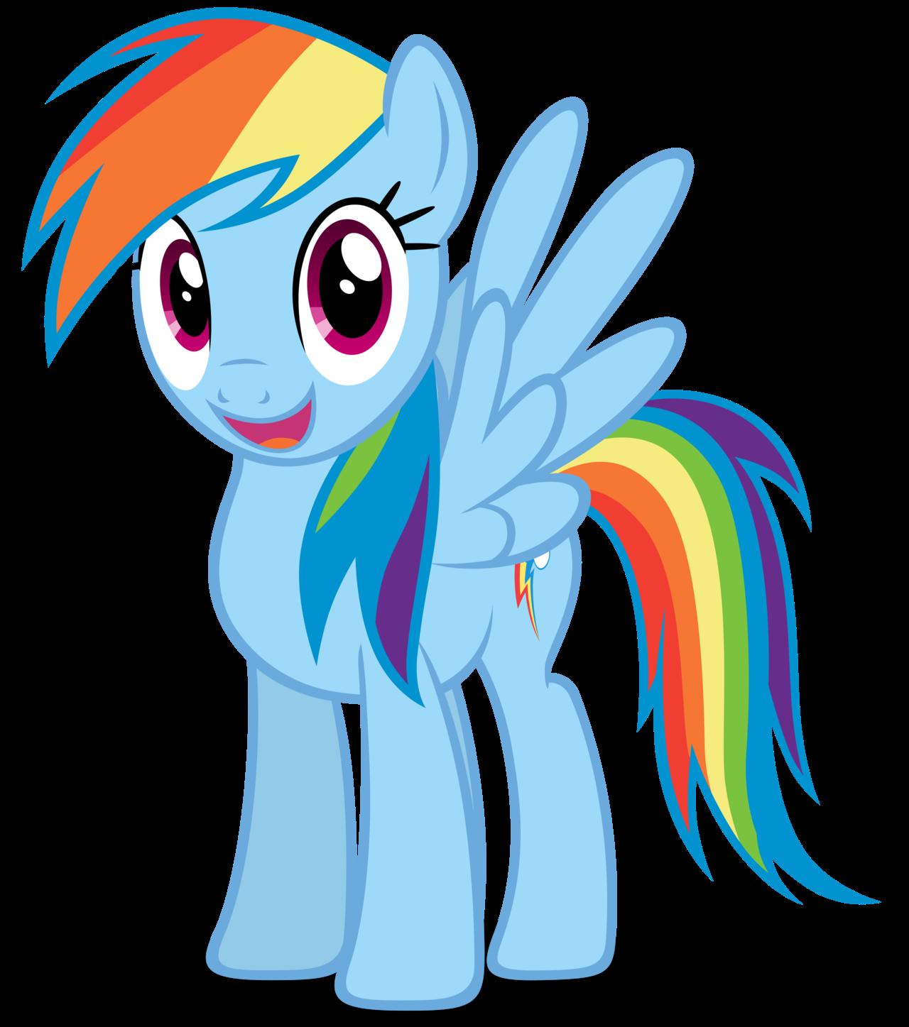 my little pony sateenkaari