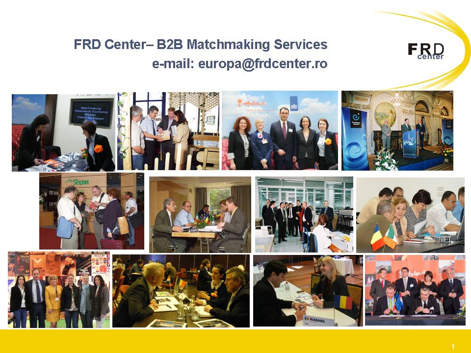 European matchmaking services