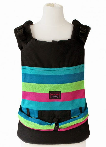 Emeibaby Hybrid Soft Structured Carrier (SSC) - Ocean Girl