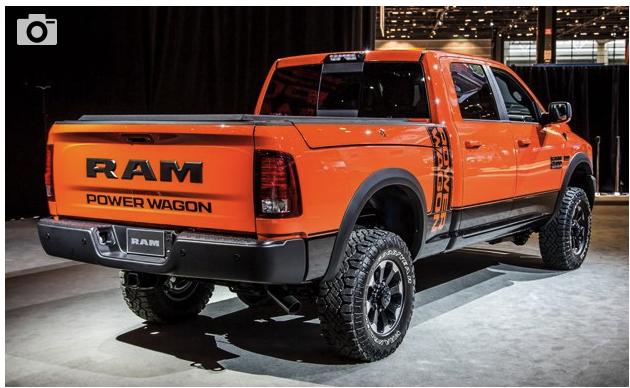 2020 Ram Power Wagon Unlimited Power Unlimited Wagon
