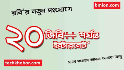 Robi-New-Prepaid-SIM-Connection-Upto-20GB-First-Recharge-34Tk-then-1GB-9Tk-or-1GB-51Tk-29Tk-Recharge-Based-Lowest-Call-Rates