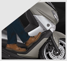 Yamaha NMAX - Two Riding Position