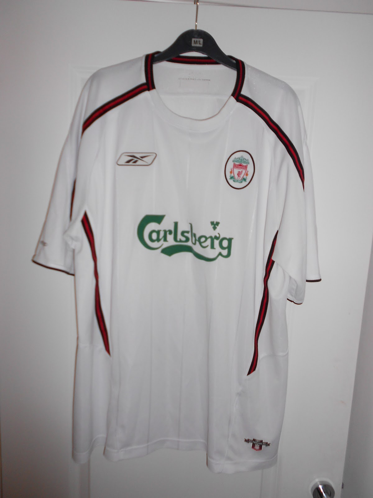low priced f59bc f76ec My collection of football shirts: Liverpool Away 2003-2004