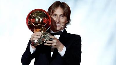 France Football Golden Ball Award 2018 Winner