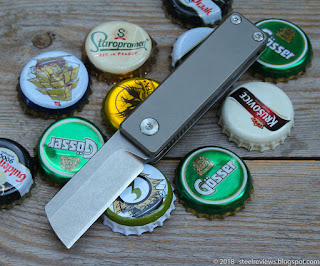 Fura Gear titanium friction folder / bottle opener