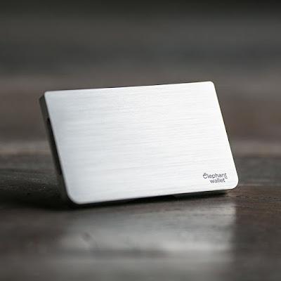 Silver Aluminum RFID Wallet