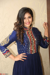 Anjali looks super cute at Chitrangada Pre Release Function March 2017 056.JPG