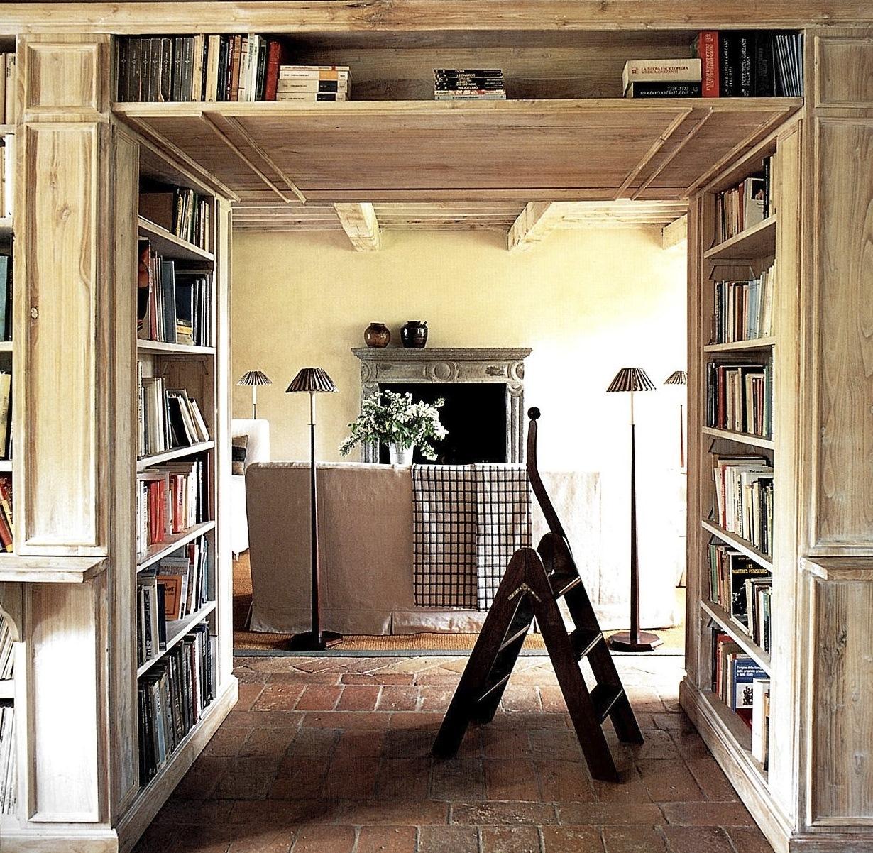 Parete Attrezzata Libreria Libreria Con Scrivania Integrata Wr88