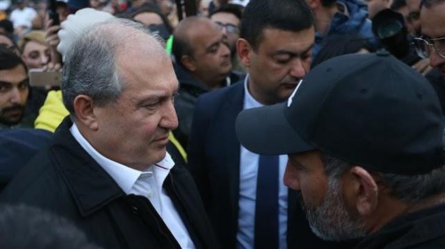 Armenian opposition leader Nikol Pashinyan to meet Prime Minister and ex-president Serzh Sarkisian