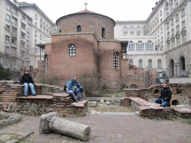 Sveti Georgi, iglesias de Sofia, iglesia ortodoxa, ruinas romanas bulgaria