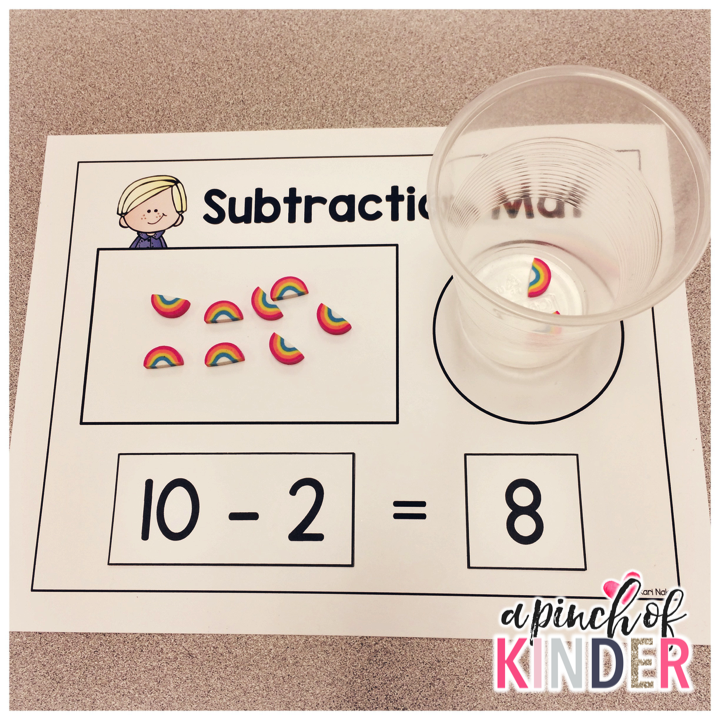 Teaching Subtraction In Fdk A Pinch Of Kinder