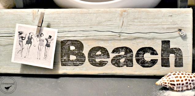 Driftwood Beach Photo Display
