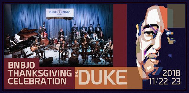 Blue Note Beijing Jazz Orchestra (Artistic Director Kevin Sun) —Thanksgiving 2018 —Duke Ellington Tribute Concert