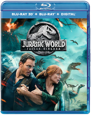Jurassic World Fallen Kingdom 2018 Daul Audio 720p BRRip 650Mb HEVC x265