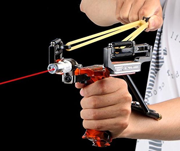 Assolar Hunting Laser Slingshot