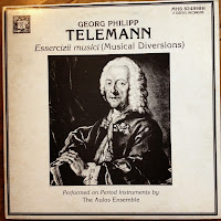 LP Record cover of Telemann