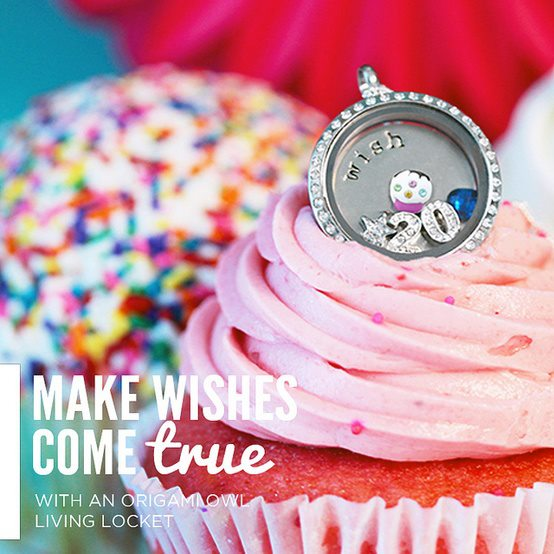 Make Birthday Wishes Come True Origami Owl Locket