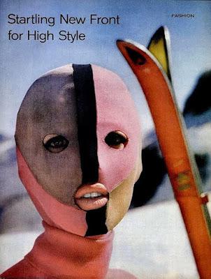 Emilio Pucci ski mask