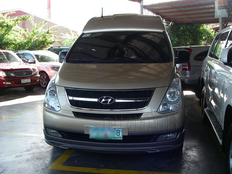 Cars For Sale In The Philippines 2011 Hyundai Grand Starex