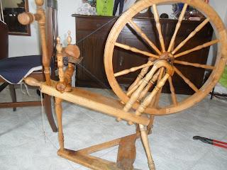 Swedish spining wheel