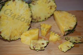 Ananas do koktajlu