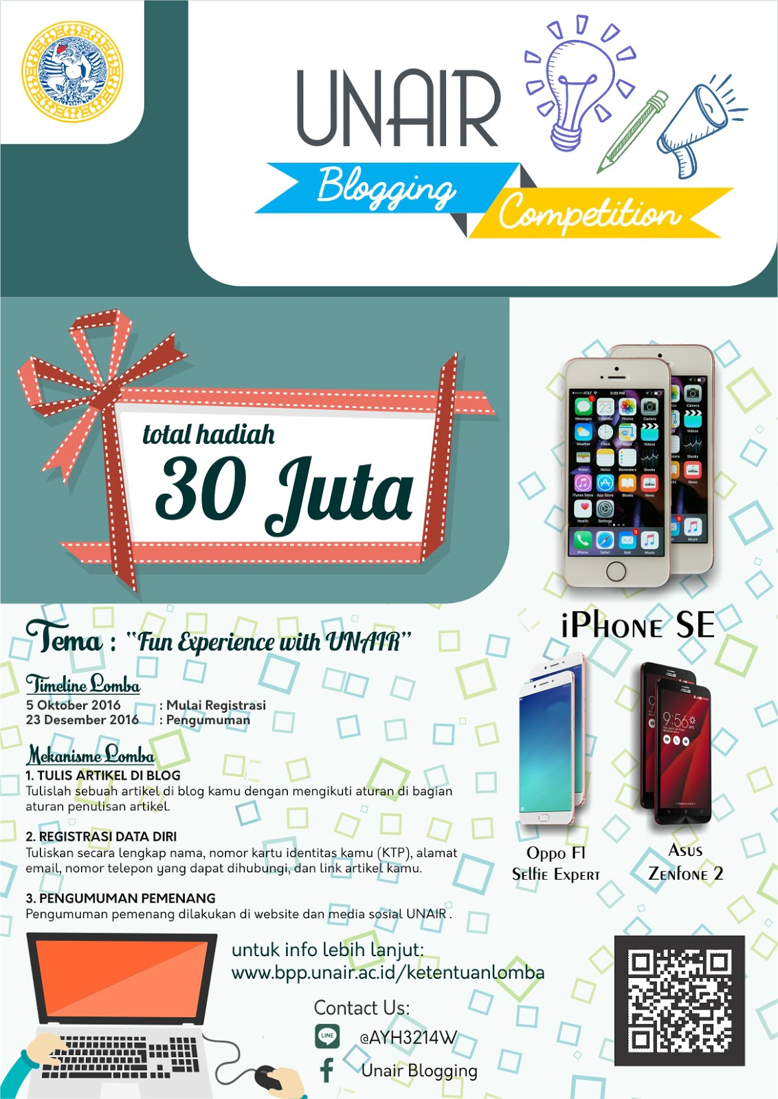 Unair Blogging Competition 2016