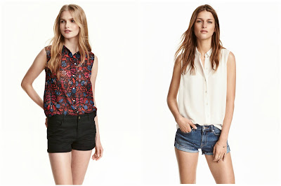 Sleeveless Chiffon Blouse $5 (reg $10)