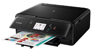 The multifunction printer provides premium lineament photograph prints Canon PIXMA TS8040 Printer Driver Download