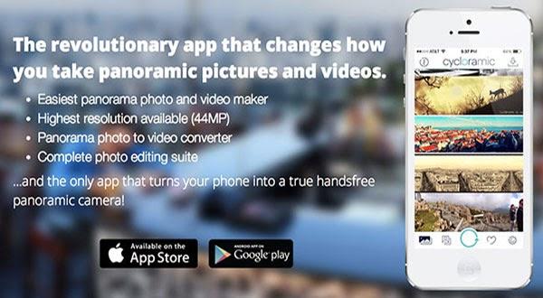 Cycloramic 360 Panoramic Photo App   GEEK-A-BOO!